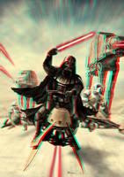 Vader Speeder Attack 3-D conversion by MVRamsey