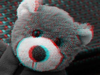 Teddy 3-D conversion by MVRamsey