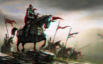 Knights 3-D conversion by MVRamsey