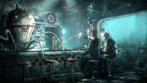 Underwater Cafe 3-D conversion by MVRamsey