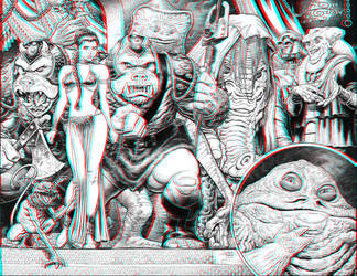 Jabba's Palace 3-D conversion by MVRamsey