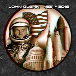 John Glenn 3-D conversion tribute by MVRamsey