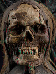 Orc Skull 3-D conversion by MVRamsey