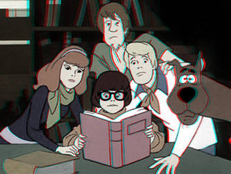 Scooby and the Gang 3-D conversion by MVRamsey