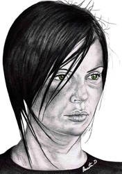 Charlize Theron IS Aeon Flux by Cleitus