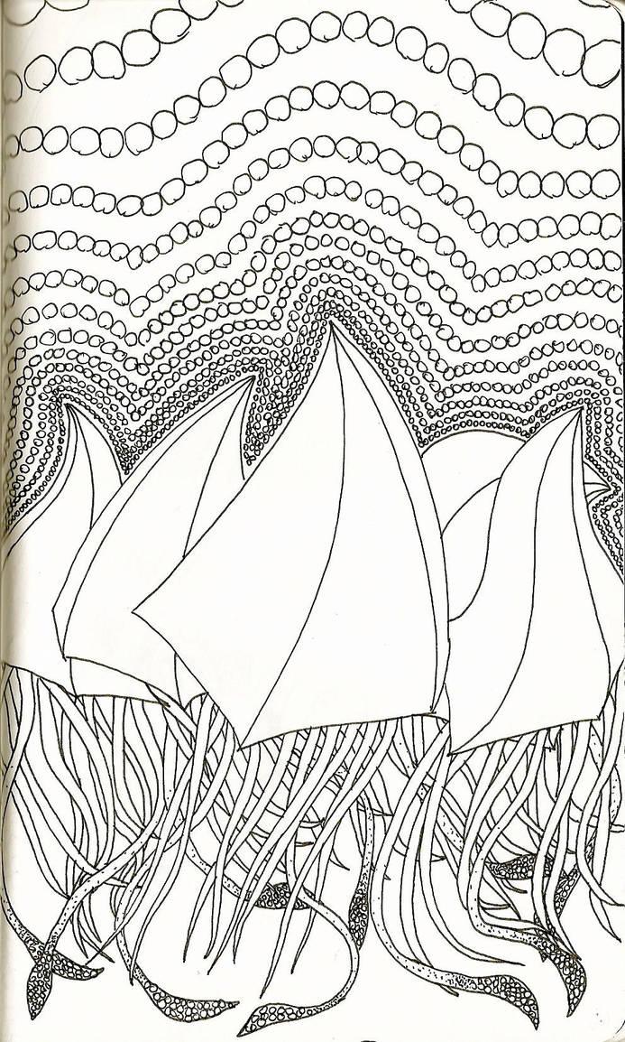 Squidbrellas by xyrophiliac