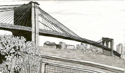 Brooklyn Bridge by xyrophiliac