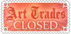 Art Trades Closed Stamp by Bunneahmunkeah