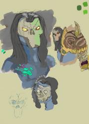 Darksiders 2 Studies: Vanquisher Armor by BrainNectar
