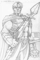 Magnus Robot Fighter - Roman Era - Pencils by CliffEngland