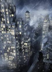 Assassin's Creed Detroit: Standing Among Starlight by zandraart