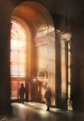 Assassin's Creed Detroit: Negotiations by zandraart