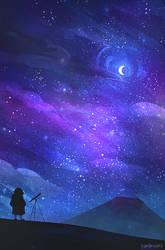 Sans Telescope by zandraart