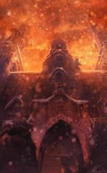 Assassin's Creed Detroit: Church by zandraart