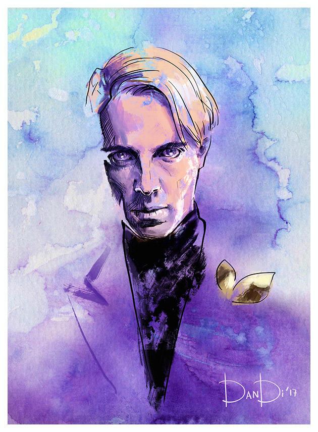 Adrian Veidt Ozymandias By Daniel Di