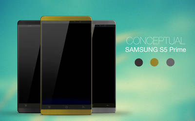 Conceptual SAMSUNG S5 Prime by ink-line