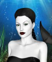 Onara Mermaid by witcheewoman