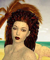 Mahra Mermaid by witcheewoman