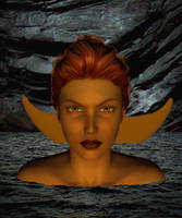 Merrow Mermaid by witcheewoman