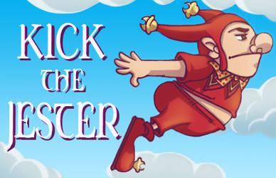 Kick the Jester - Newgrounds Banner by Jiubeck