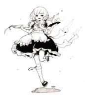Request - Maid Inko [Kago to Torii] by Nuei