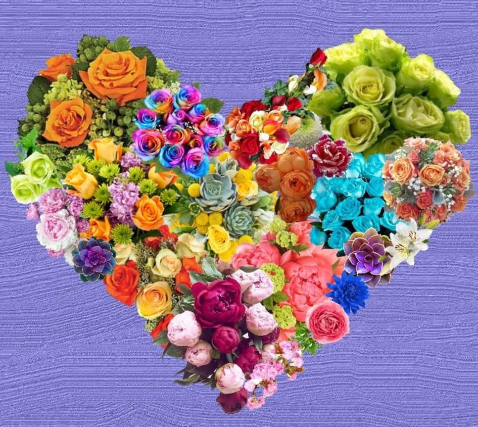 heart of flowers by NotSoAmazngGrace