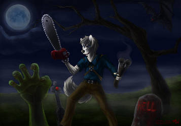 Groovy Halloween by Docteurwolf