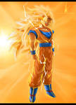 Super Saiyan 3 Goku! by DeviousSketcher