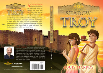 In the Shadow of Troy book cover by Dawnchaser
