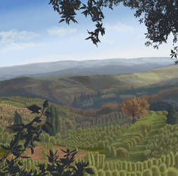 Italian Countryside by Dawnchaser