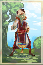 Goblin Grandma by NL0rd