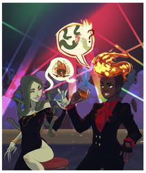 Monster Prom Ladys by NL0rd