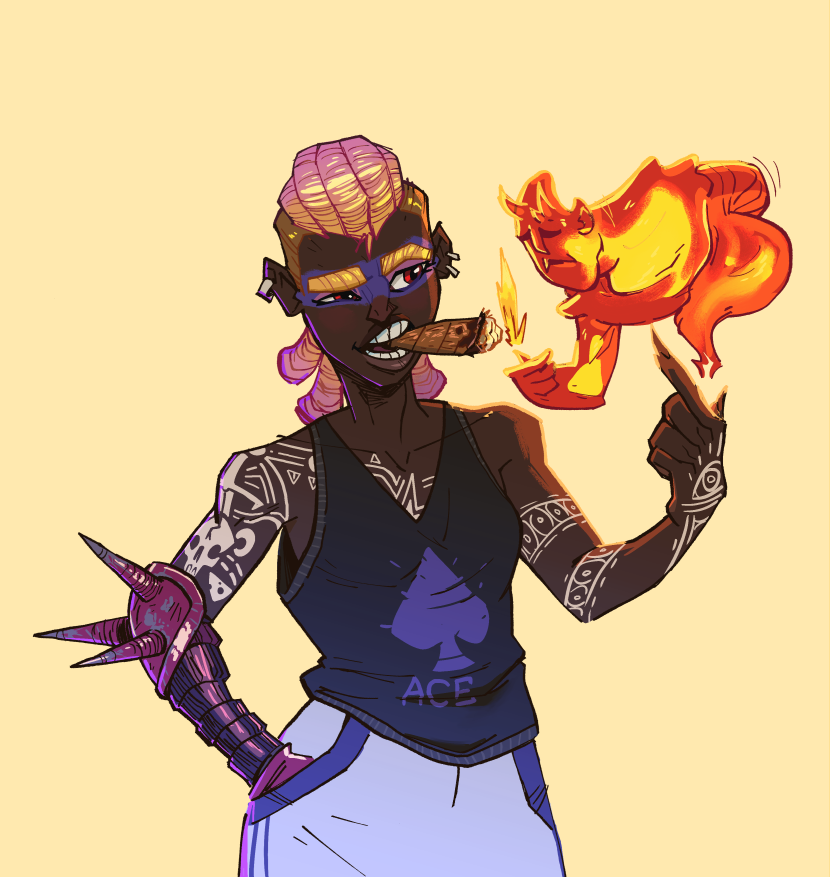 Pyromancer by NL0rd