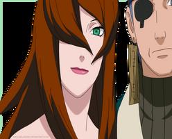 Mei and Ao - Shippuden 199 by Aeli-na