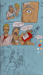 BLUE SLUGGER . page 1 thumbnails by Action-Chappy