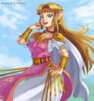 Zelda by Comadreja