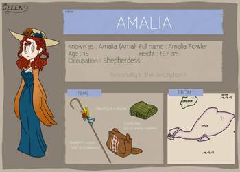 Gelea Ref - Amalia by CinnamonSand