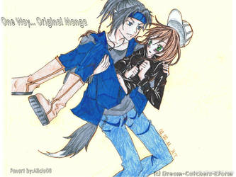 One Way original manga by Queenz14