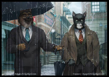 Wet Fur Blues by Defago