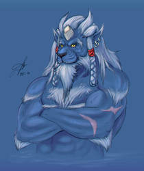 Elder Kimahri by Defago
