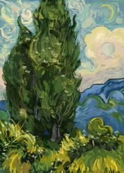 Van Gogh Color Study by AimeeSH