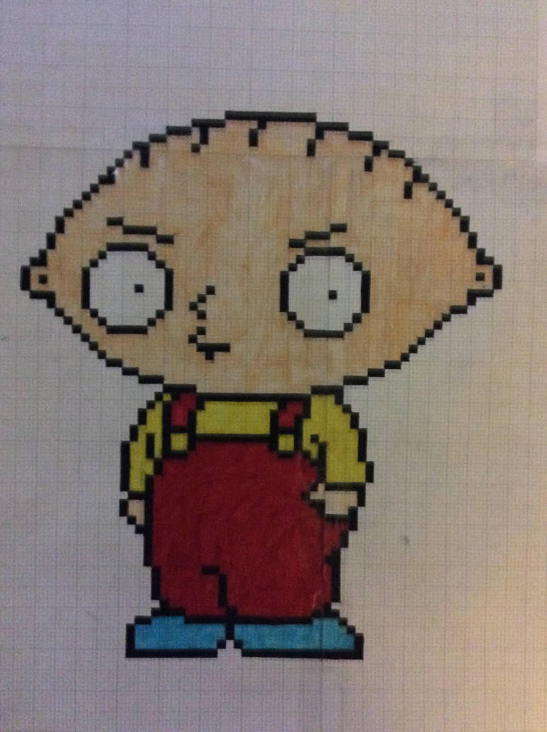 Stewie Pixel Art Wwwpicturesbosscom