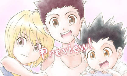 HxH: On a Venatic Path - Miniposter preview! by LauraPaladiknight