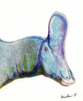 Tsintaosaurus spinorhinus by Bronto-Thunder-Zaur