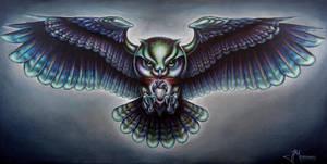 Owl by JordanMendenhall