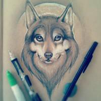 Wolf by JordanMendenhall