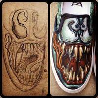Venom Shoes by JordanMendenhall