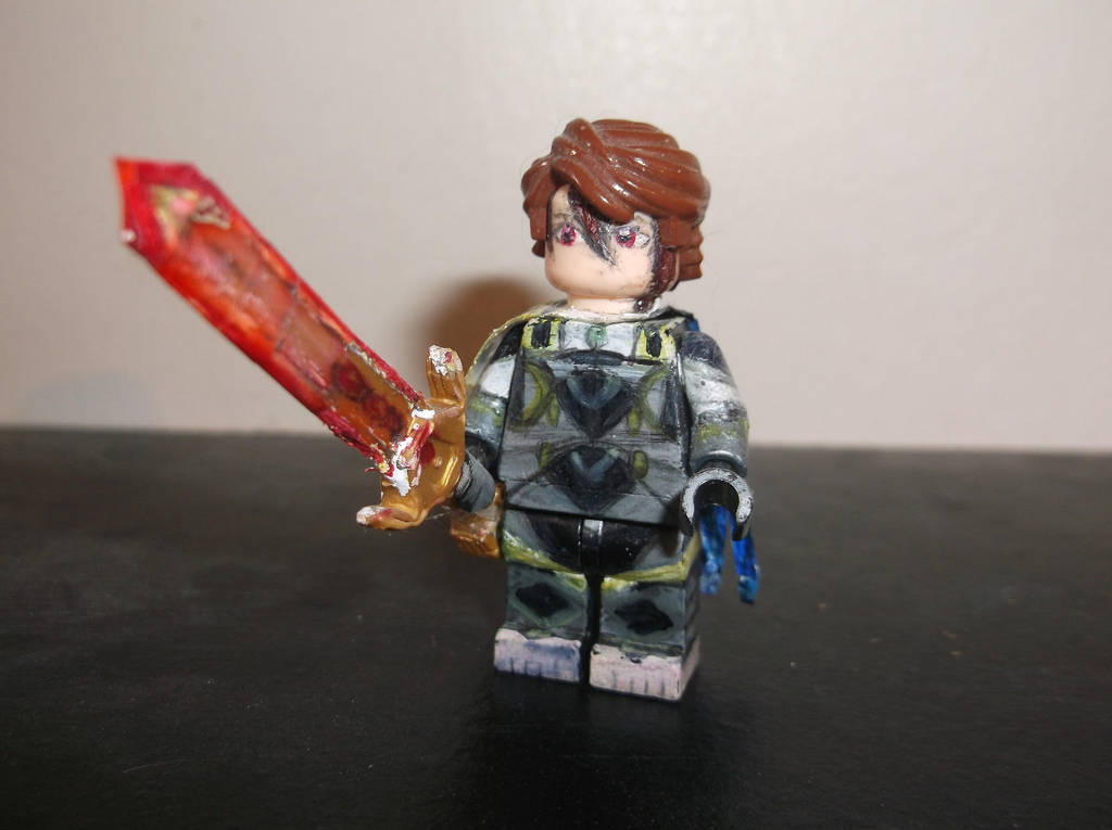 Lego Fire Emblem Fates Nohr Noble With Omega Yato By