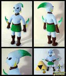 Zora Link Plushie by Eyes5