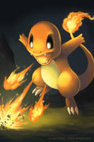 Charmander's Ember by arkeis-pokemon